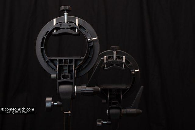S型ストロボブラケット BOWENSマウント