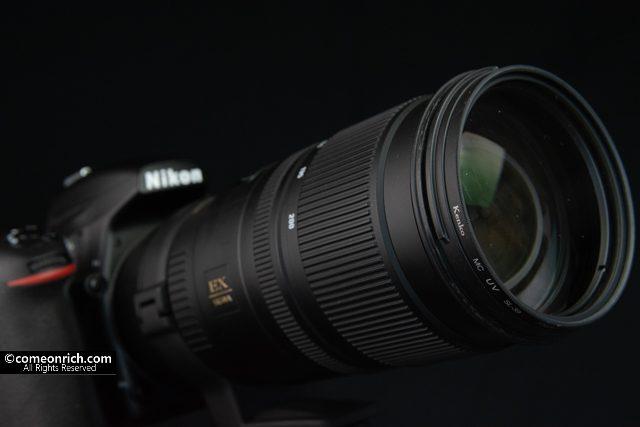 シグマ SIGMA 望遠ズームレンズ APO 70-200mm F2.8 EX DG OS HSM