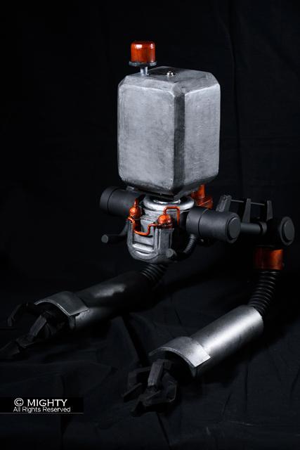 NieR:Automata(ニーアオートマタ)ポッドの造形。