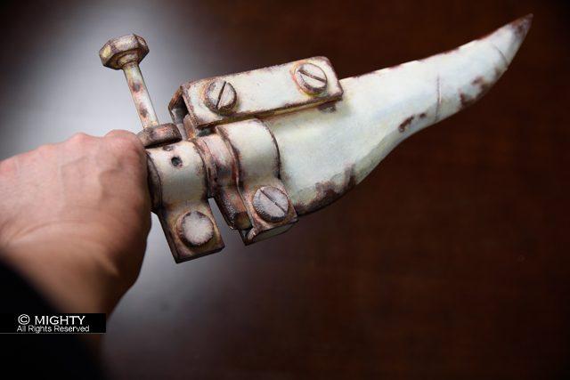 NieR:Automata(ニーアオートマタ)機械生命体 武器の塗装 造形