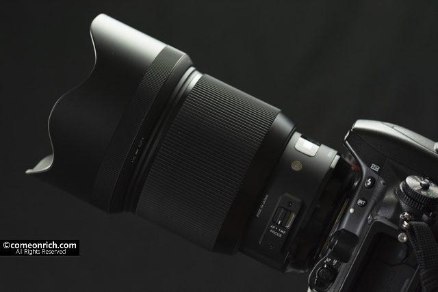 シグマ SIGMA 85mm F1.4 DG HSM 購入 評価