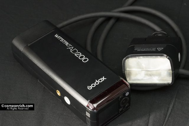 ゴドックス godox ad200 EC200 購入レビュー