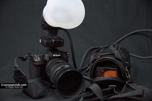 GODOX AD200+EC200+VANGUARD カメラフラッシュケース