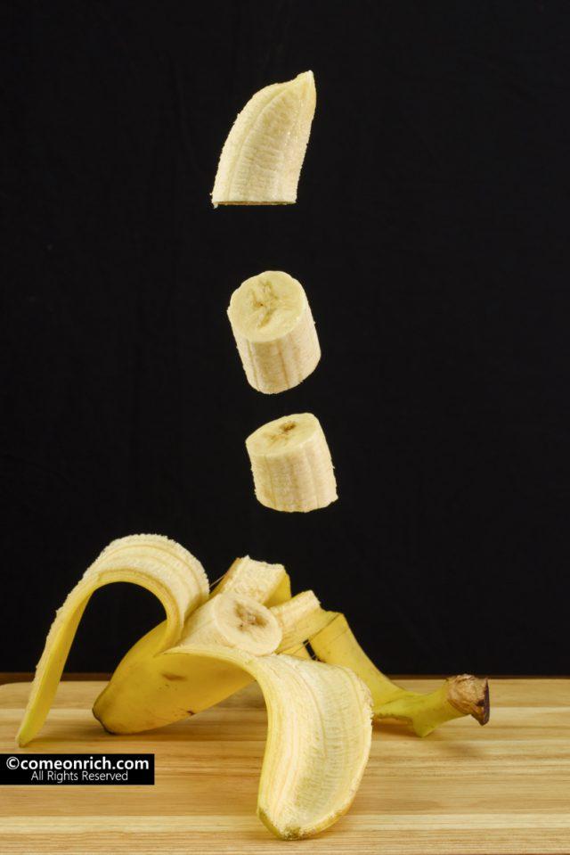 バナナ 特撮 撮影