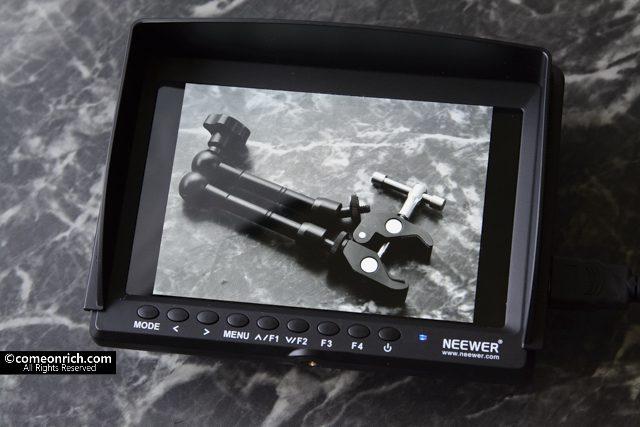 Neewer NW759 モニター購入