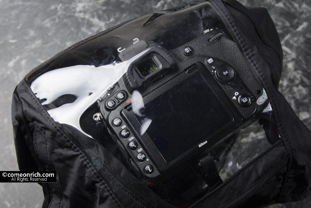 VANGUARD バンガード カメラレインカバー ALTA RCMで雨対策
