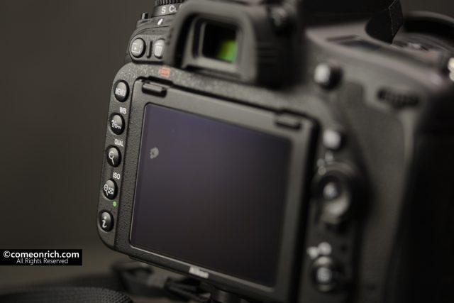 カメラ D750 液晶保護フィルム交換