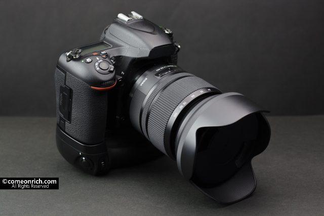 ニコン D750 バッテリーグリップ