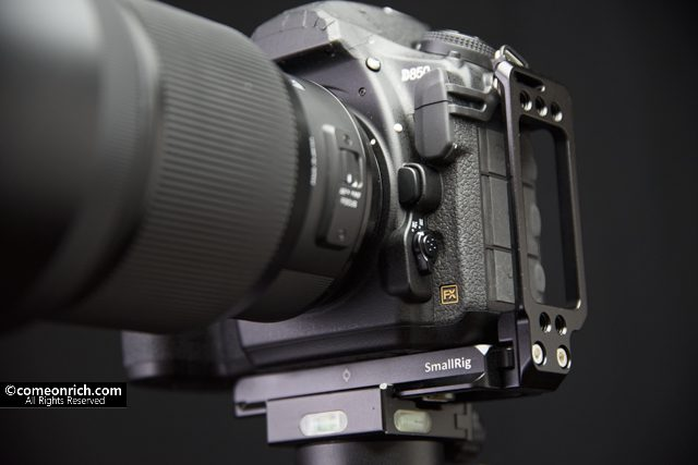 SMALLRIG Nikon D850専用L-ブラケット L型プレート アルカスイス