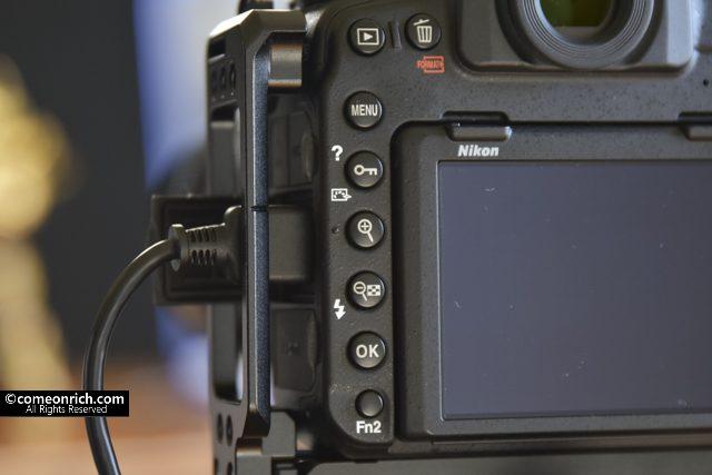 SMALLRIG Nikon D850専用L-ブラケット使ってみた