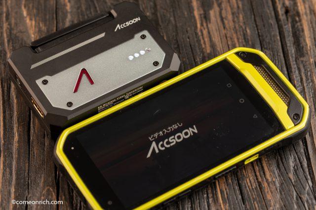 ACCSOON CineEye スマホをカメラ外部モニター化 アプリ