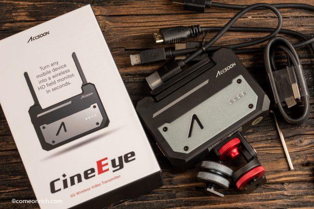 ACCSOON CineEye スマホをカメラ外部モニター化