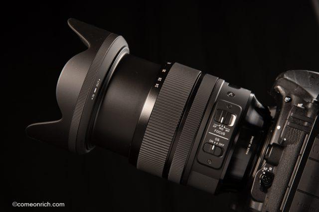 SIGMA シグマ24-70mm F2.8 DG Art ニコンマウントを購入。
