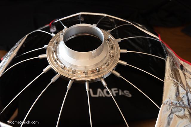 LAOFAS、Neewerの90cmソフトボックス 大きな違いは組み立て方です。比較してみました。