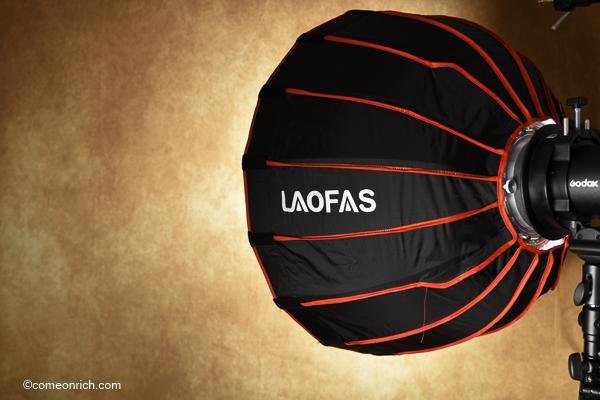 LAOFAS ソフトボックス 購入評価レビュー
